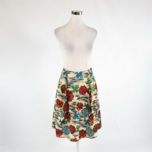 White red MALIPARMI pleated skirt IT40 6